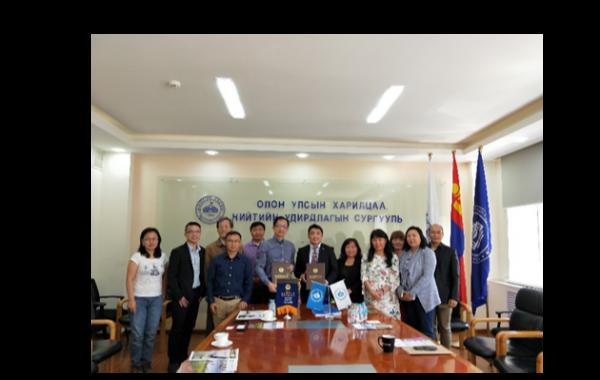 2018/08/26-09/01拜訪蒙古大學 – 兩校簽屬MOU並進行學術交流