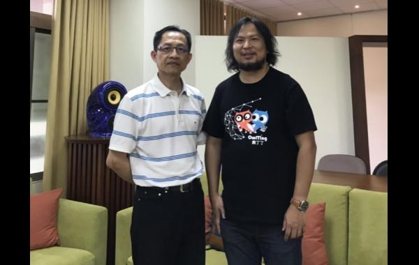 2019/05/15王俊凱執行長(奧丁丁集團)徵才說明會暨區塊鏈革命講座