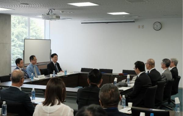 2018/06/03-06/07拜訪日本政策大學院大學(Grips) – 兩校簽屬MOU並進行學術交流
