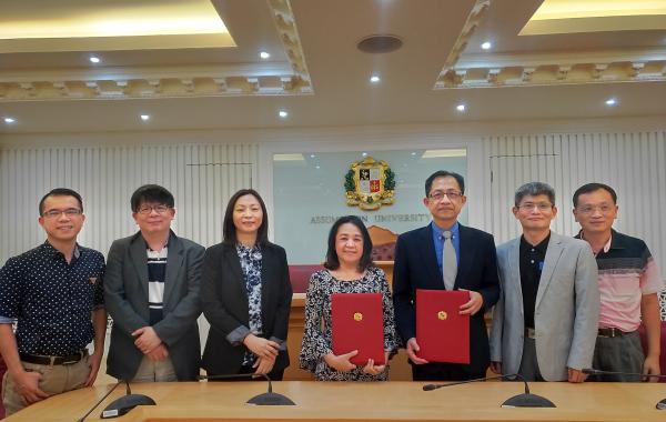 2019/11/26-29 陳建良院長率領系主任們參訪泰國學校